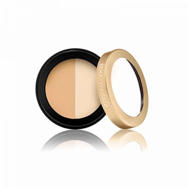 Conceals and diminishes the appearance of dark under-eye circles